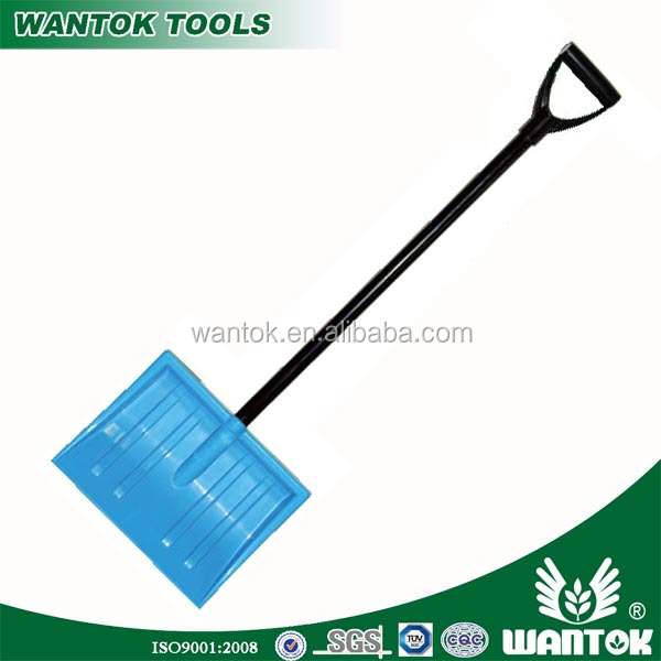 S549-1YS Overall Length 875mm Plastic Snow Shovel