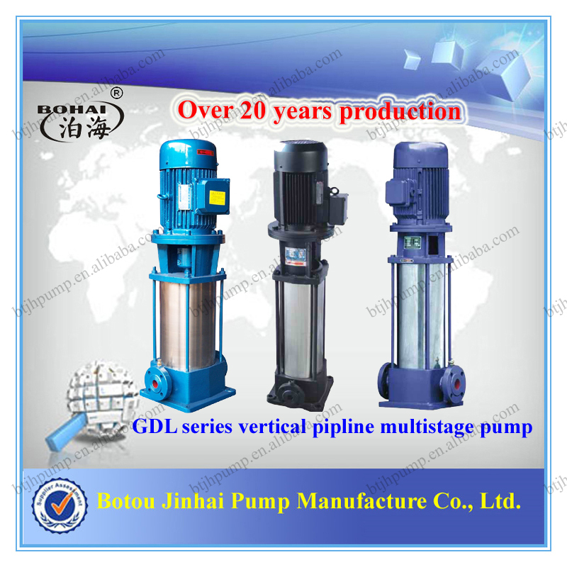 GDL Vertical inline multistage centrifugal pump