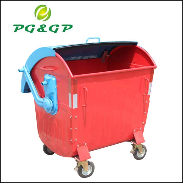 1100l refuse collector waste and recycling collection