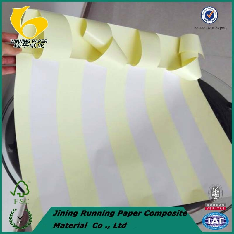 Self adhesive paper with back slit (2016 years promotion price )