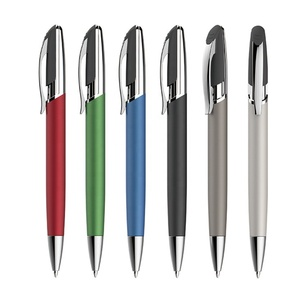 2018 promotional metal click custom logo printing ballpen signature pen imports from china