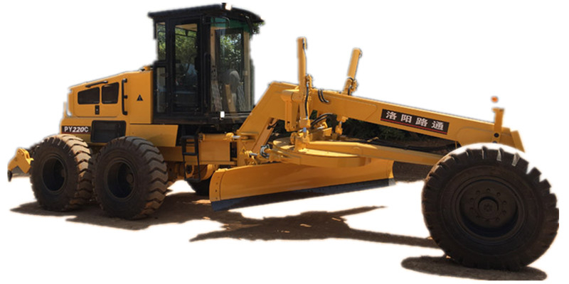 Heavy Motor Grader 17ton Lutong Brand New PY220C 158kW Diesel Engine with Ripper Road Graders