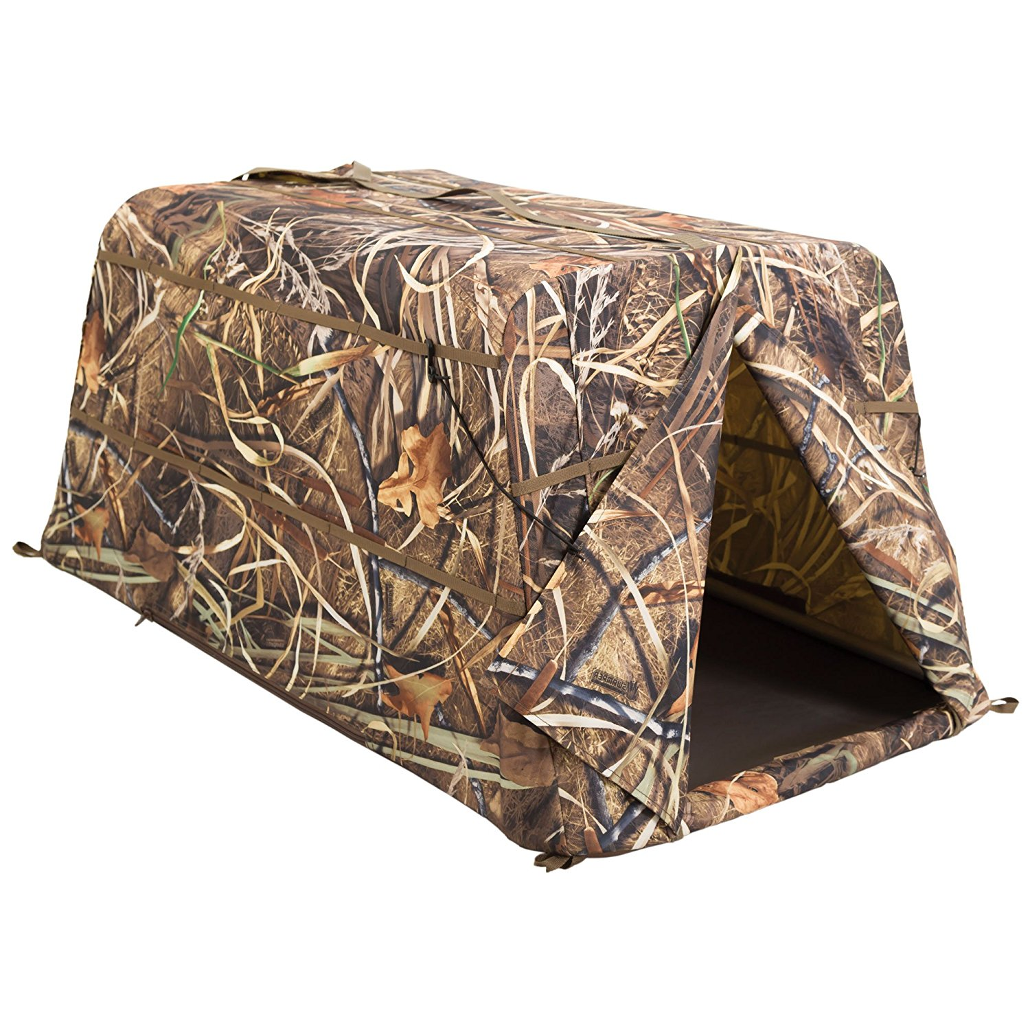 force realtree ground blinds person blind two layout banded ghg avery p images gallery man in finisher