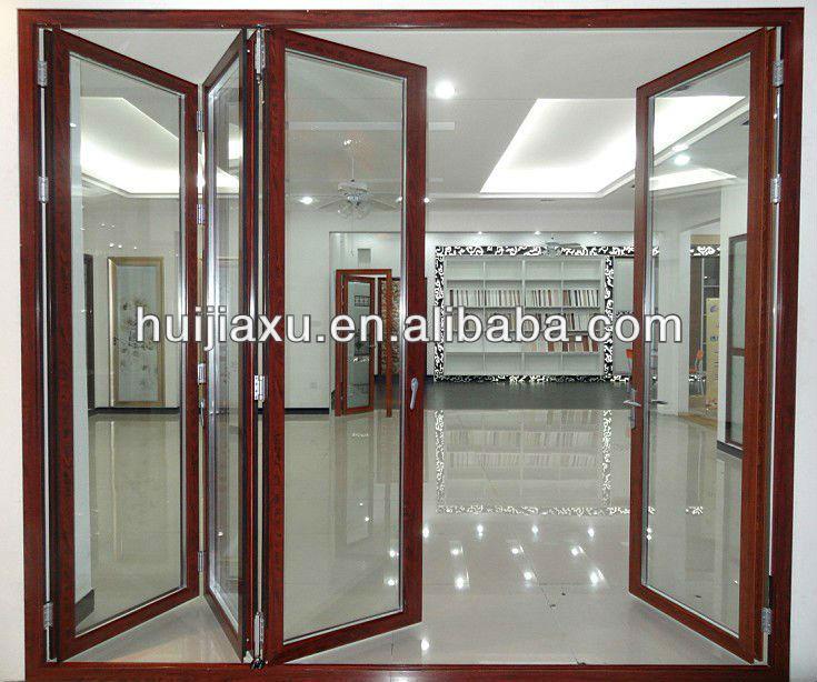 Aluminio plegadora fuelle enmarcado puerta acordeon puerta for Puerta de acordeon castorama