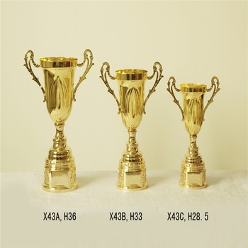 Factory Price Custom Metal Cricket Trophy Wholesale For Sports