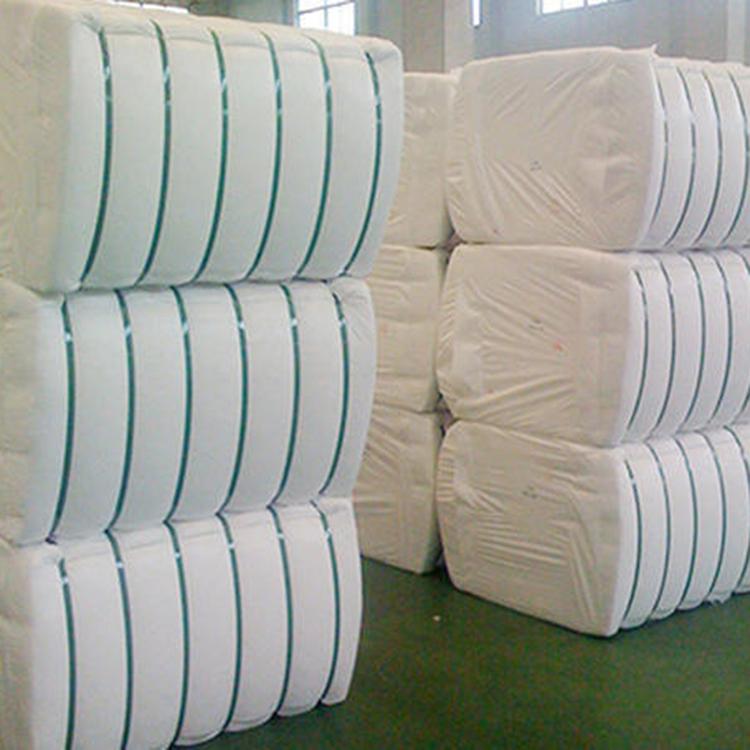 سيليكون وسادة ملء المواد 100% المعاد تدويرها ألياف بوليستر قصيرة