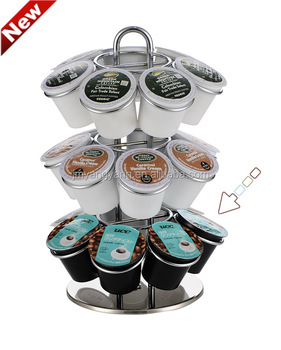 Kitchen Rack Standing Keurig K Cup Coffee Pod Holder Holds 21 Pods Storage Product On Alibaba