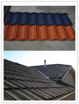 Building Materials Roof Tile Color Stone Coated Metal