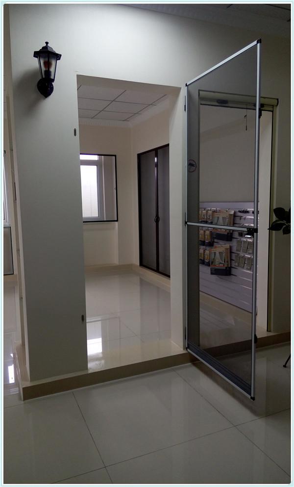 Diy Hinge Fly Screen Door With Mosquito Net - Buy Fly Screen Door,Diy  Screen Door,Mosquito Net Door Product on Alibaba com