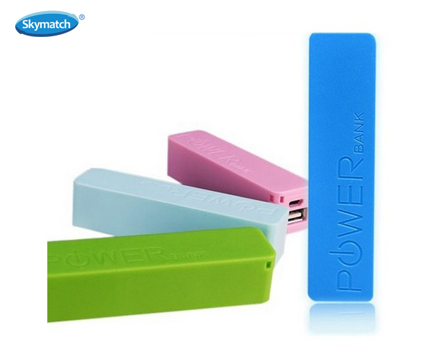 New Portable Mini Perfume  Mobile Power Bank 2600mAh  universal External Battery for iPhone 5s samsung galaxy s5 free shipping