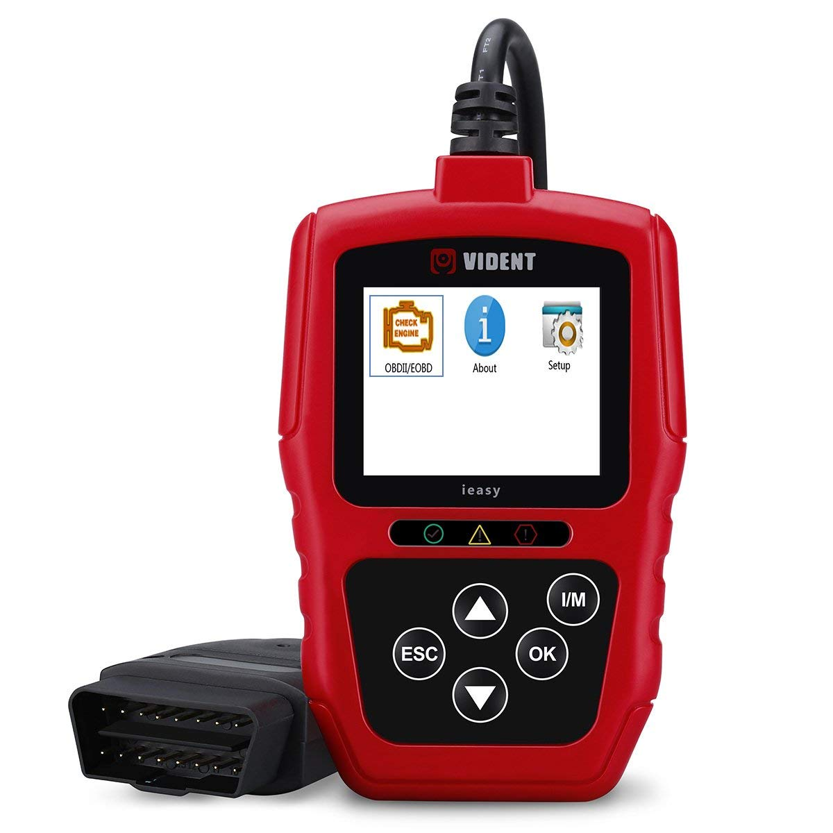 Get Quotations · Automotive OBD2/OBD II Diagnostic Scan Tool, iEasy300 Code  Reader for Check Engine Light