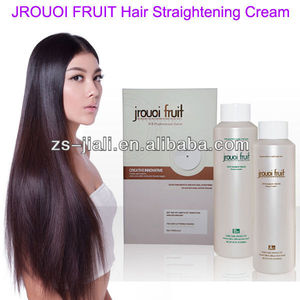 JROUOI FRUIT Hair Straightening Cream hair straightener