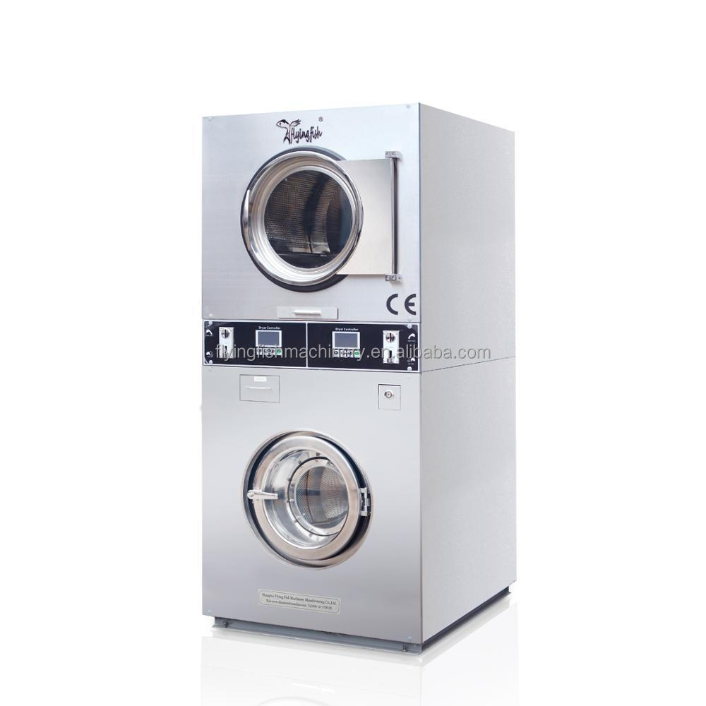 Professional coin operated washing machine, card washer and dryer