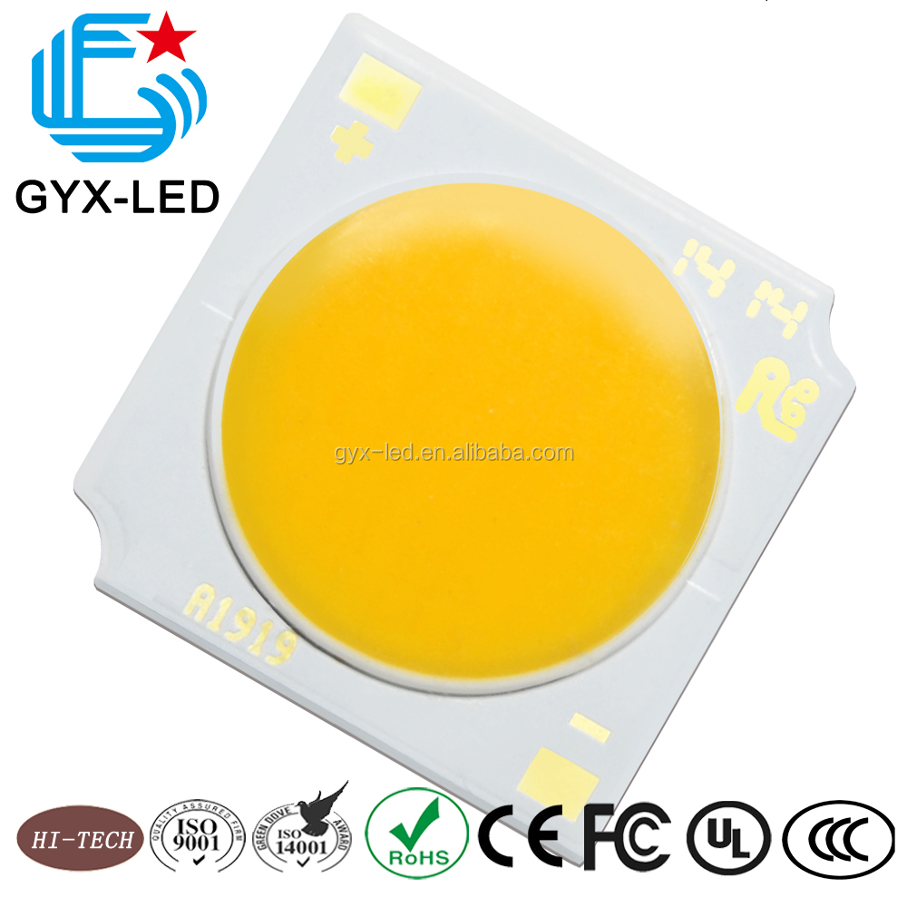 2700-6500K white 36.5V 120 degrees led cob 17w