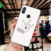 Yinuoda эстетика Минимальная девушка мощность Feminist телефон чехол для Xiaomi Redm4X 6A 5A 7A Redmi5 5Plus Note8 8Pro 7 mi A1 A2Lite(Китай)