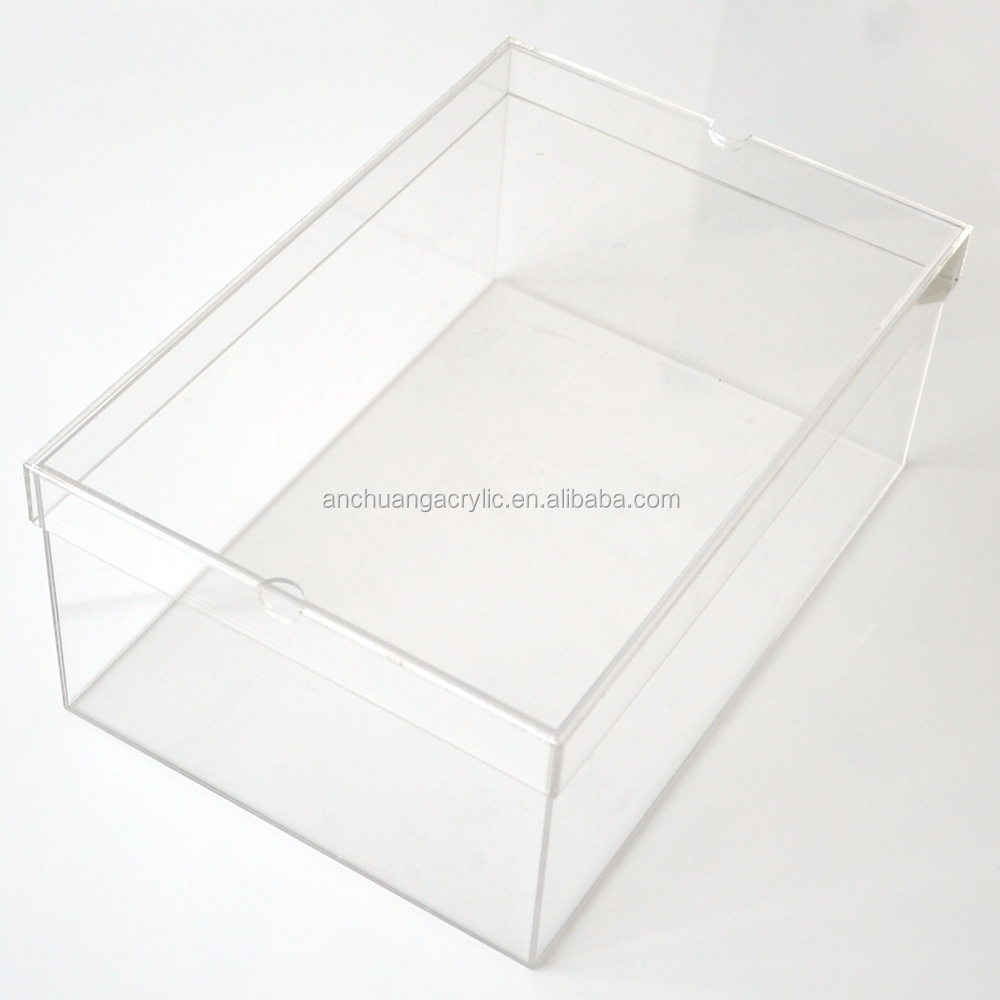 clear shoe box for sale buy clear plexiglass shoe box small clear plastic display boxes small. Black Bedroom Furniture Sets. Home Design Ideas