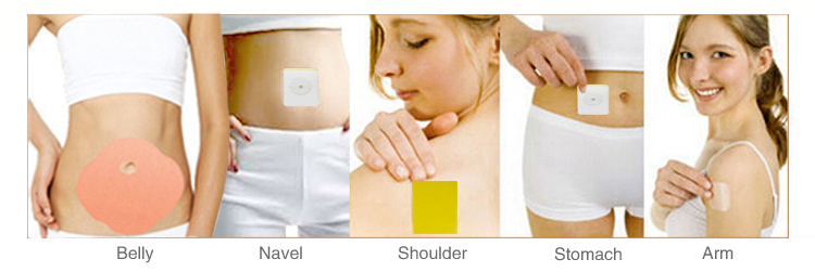Factory direct how to use slim patch health slimming fat burning plaster patch