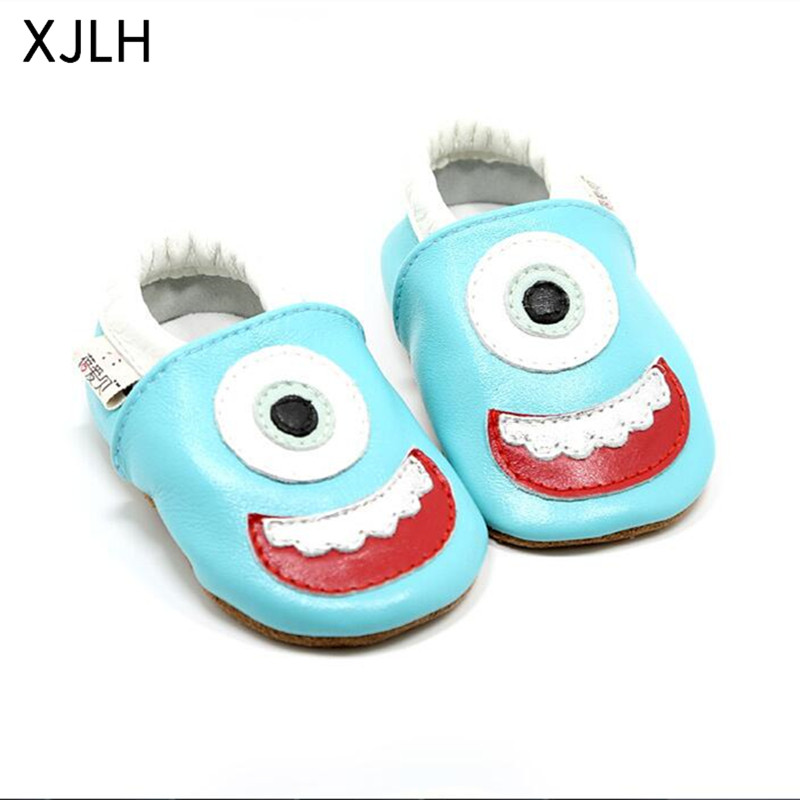 China Wholesale Most Popular Sports Mocassins Leather Baby Shoes
