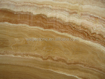 Wholesale Price Serpeggiante Yellow Onyx Marble Transparent Stone