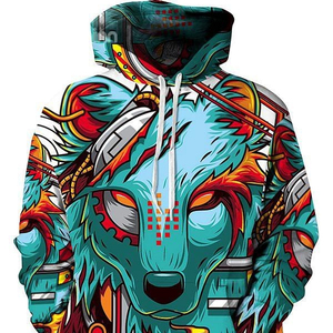 cheap price new fashion sublimation 3d print hoodie