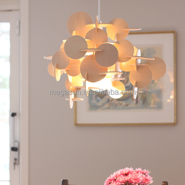 Desinger Modern Wooden Bau Lampe Lamp