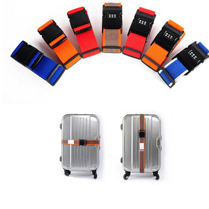 Polyester luggage bag belt suitcase secure strap belt