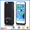 MFI External Battery Pack Power Bank Charger Case Cover for iPhone 6s, external power bank case for iphone 6