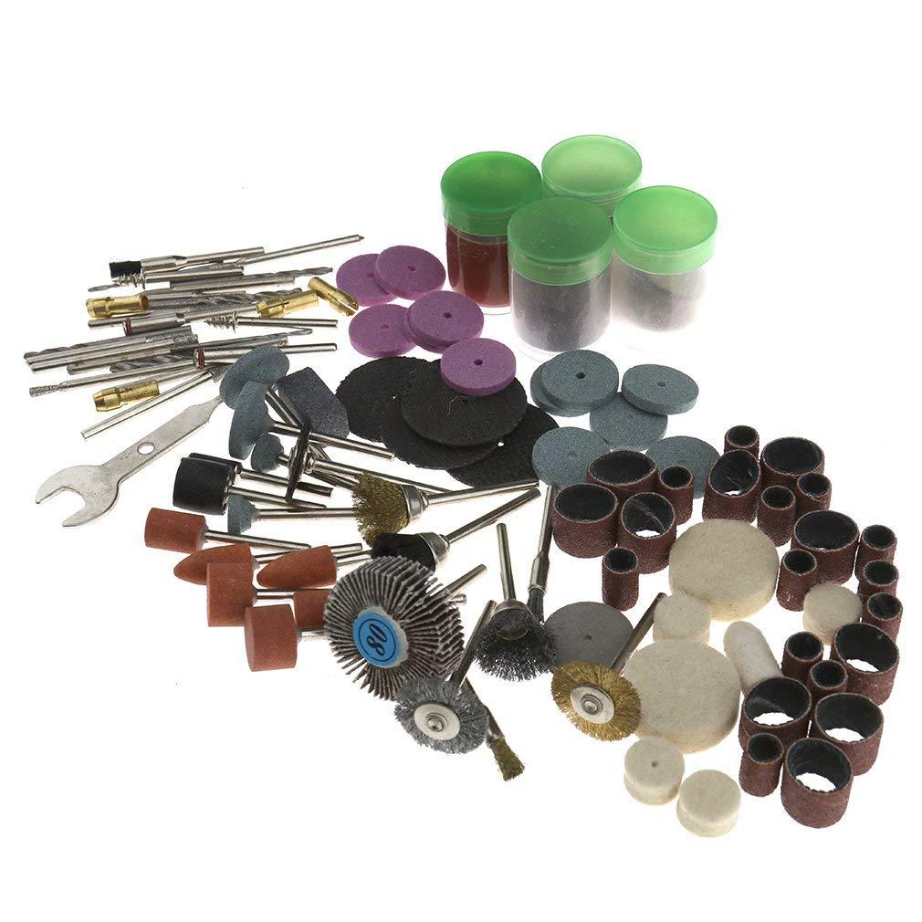 Letbo New 216pcs Rotary Tool Accessories Kit Sanding Polishing Tool