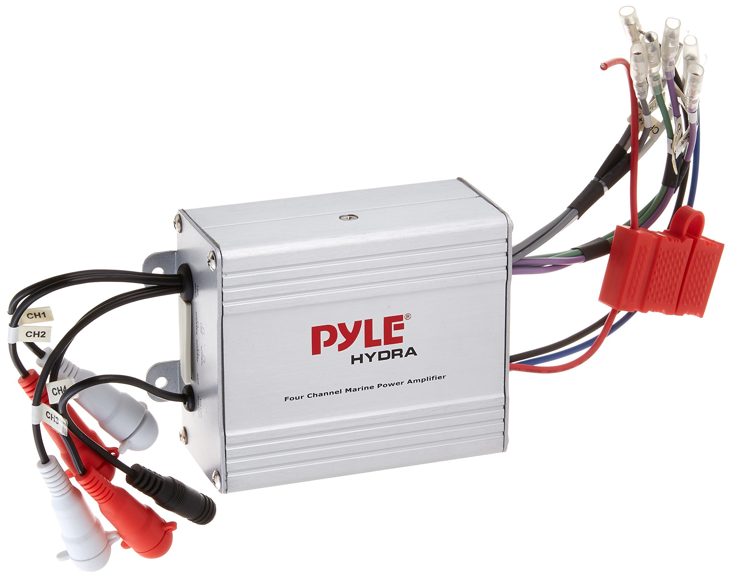 Marine Audio Wiring Library Electrical Get Quotations Pyle Compact Amplifier Kit Waterproof Rated 4 Channel Amp