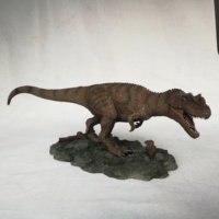 Hot sell dinosaur toy plastic t-rex action figure for kids children boy