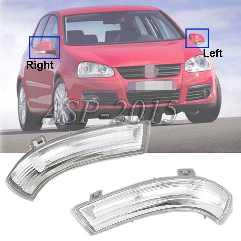 Зеркало индикатор указатель поворота лампы левой стороны , пригодный для VW Jetta гольф Mk5 Passta