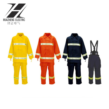Electric high voltage proof suit arc flash protective clothing for Electrician
