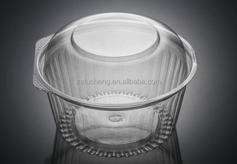 OEM Disposable Cheap Plastic Round bowl for soup/ ice cream