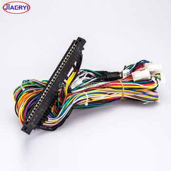Arcade Game Machine Wire Harness Color Codes.jamma Pcb Board Harness on relay harness color code, wiring harness connectors, wiring harness transmission, toyota wiring diagrams color code, safety harness color code, trailer wire harness color code,