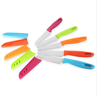 China factory custom high quality Kitchen Fruit Ceramic Paring Knife With Sheath