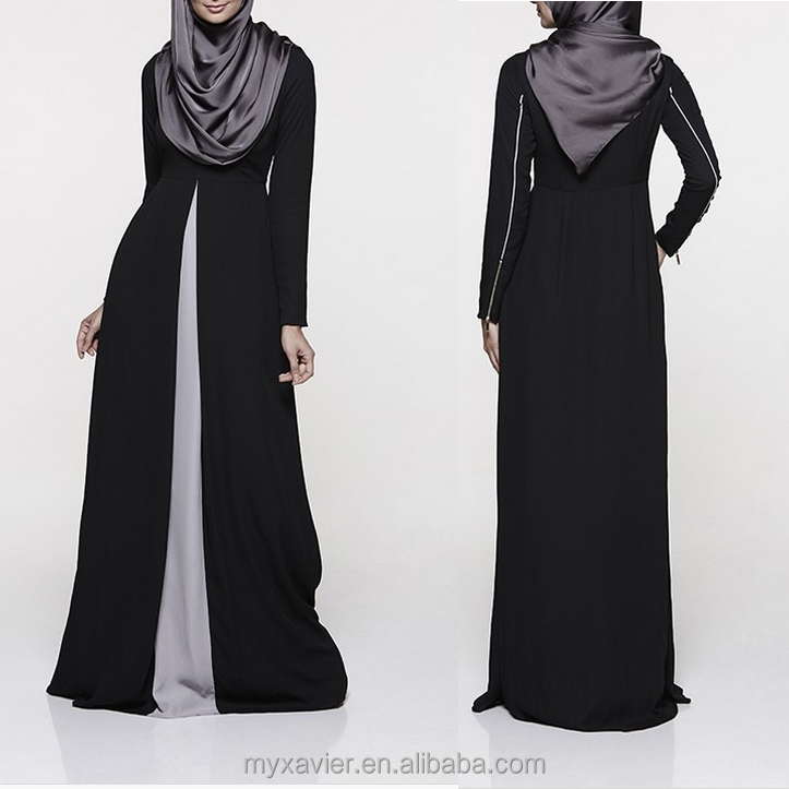 682dcc4bef6bf New model abaya in dubai fashion design with hijab and concealed front  zipper for nursing friendly abaya