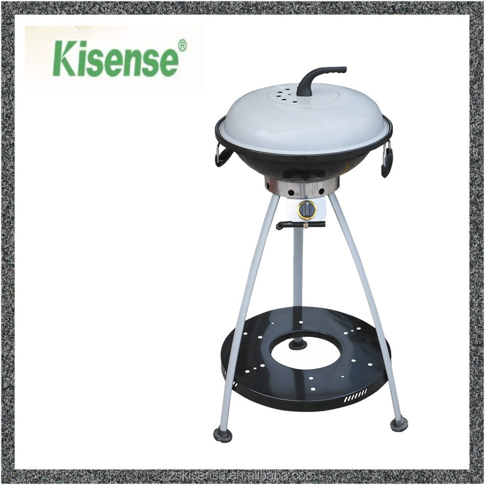Small Size Convenient One Burner Bbq Grill Gas