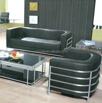 Modern Home Living Room Sofas Furniture 100% Top Grain Genuine Leather Sofa  Set Stainless Steel C Shaped 3 2 1 Sofa Set - Buy Sofa Set 7 Seater,C ...