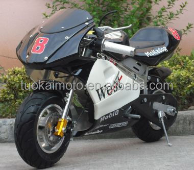 49cc 2-stroke mini bike/49cc pocket bike/cheap mini motorcycle (TKM50-P)