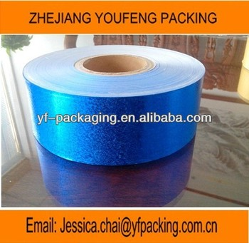 blue embossing aluminum foil paper for cigarette packing