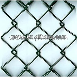chain link fence in iron and steel