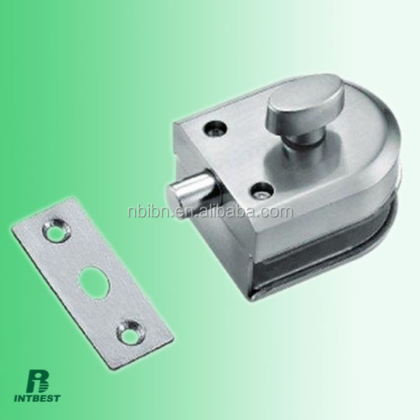 Shower Roombathroom Frameless Glass Door Latch Lockingstainless