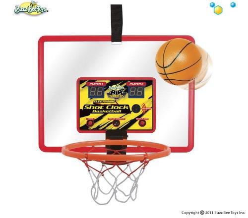 Buzz Bee Toys Electronic Shot Clock Basketball Hoop