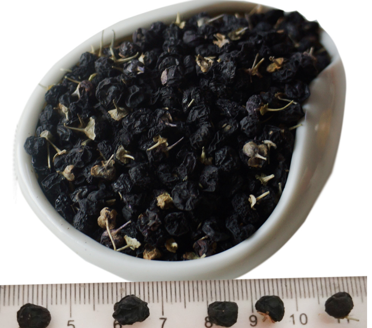 100% natural Organic dried black chinese wolfberry