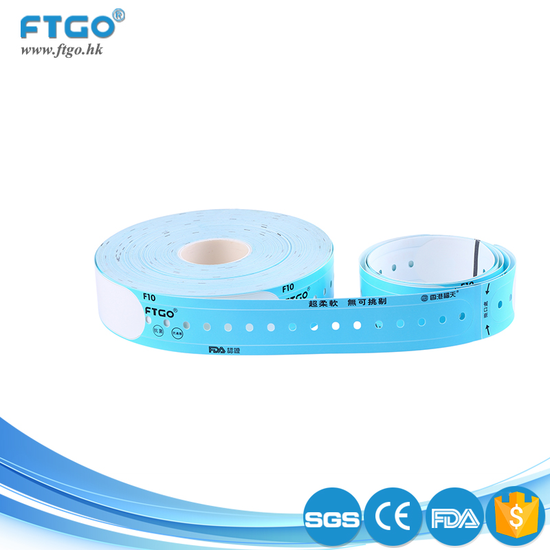 CE FDA certificated soft anti alcohol anti alcohol custom thin wristbands