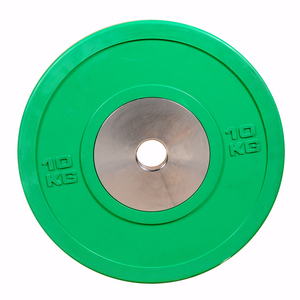 2018 China New Green Gym Barbell 10kg Weight Plate