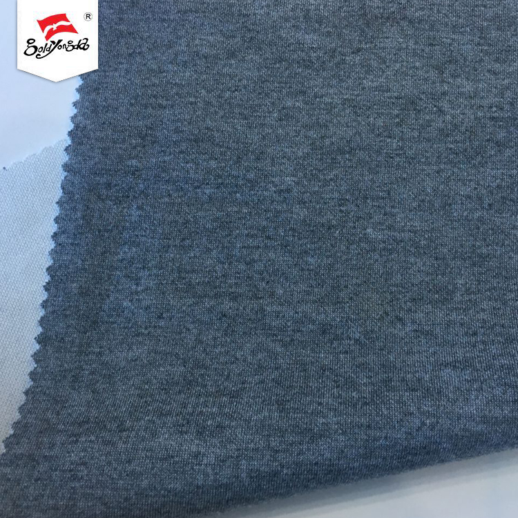 Online shopping customized soft hand feel wholesale fabric polyester rayon scuba