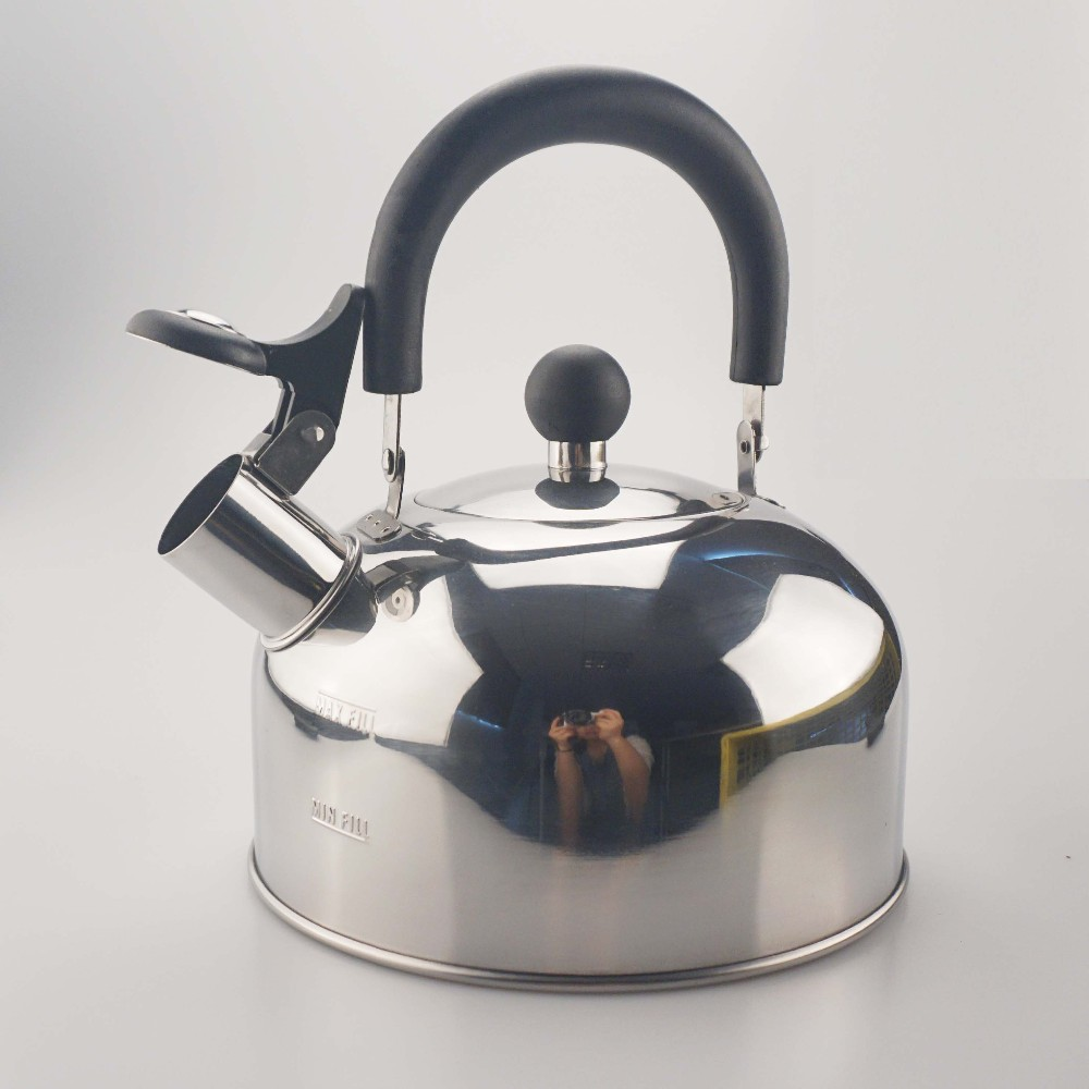 Novelty Tea Kettles ~ L stainless steel fashion and novelty kettle tea pot