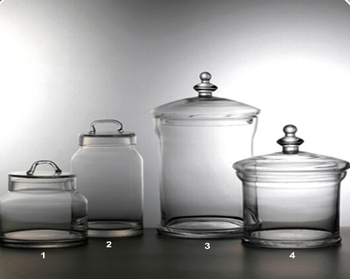 Gj 004 Large Apothecary Gl Jar With Lid Whole Jars
