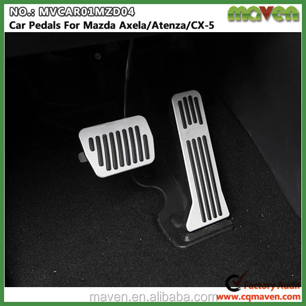 Aluminum Automatic Transmission Racing Car Foot Pedal For Mazda Axela  Atenza Cx5 Auto Tuning Parts - Buy Car Foot Pedal,Racing Car Foot Pedal,Car  Foot